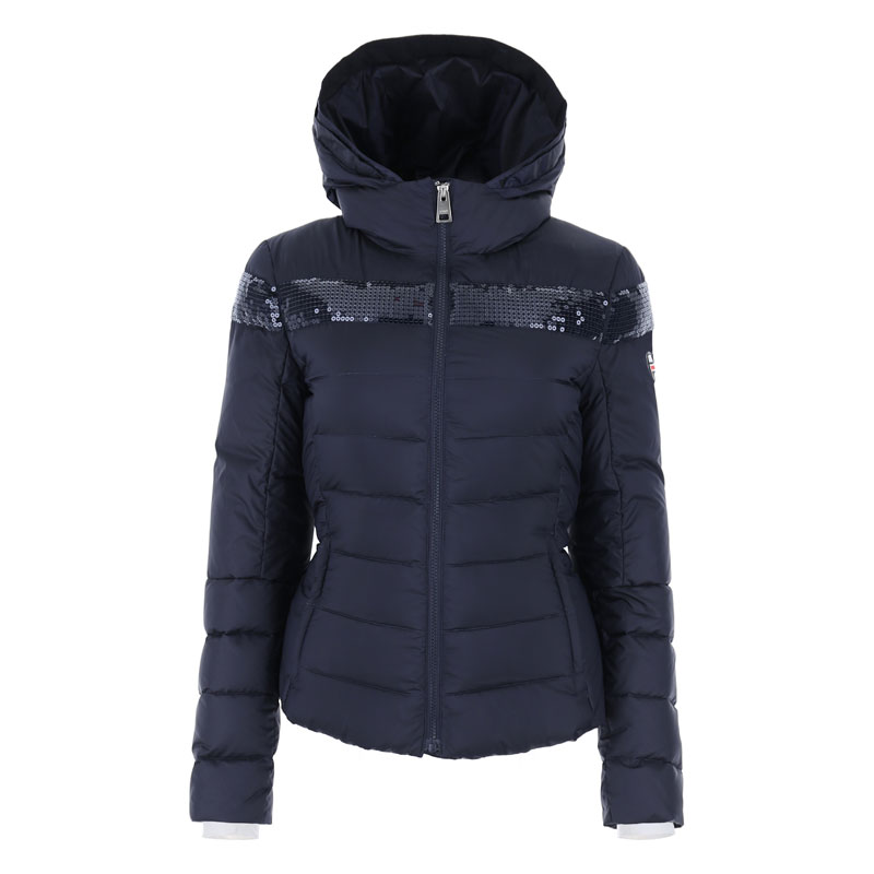 Vist Caterina Chic Down Jacket Deep Ocean