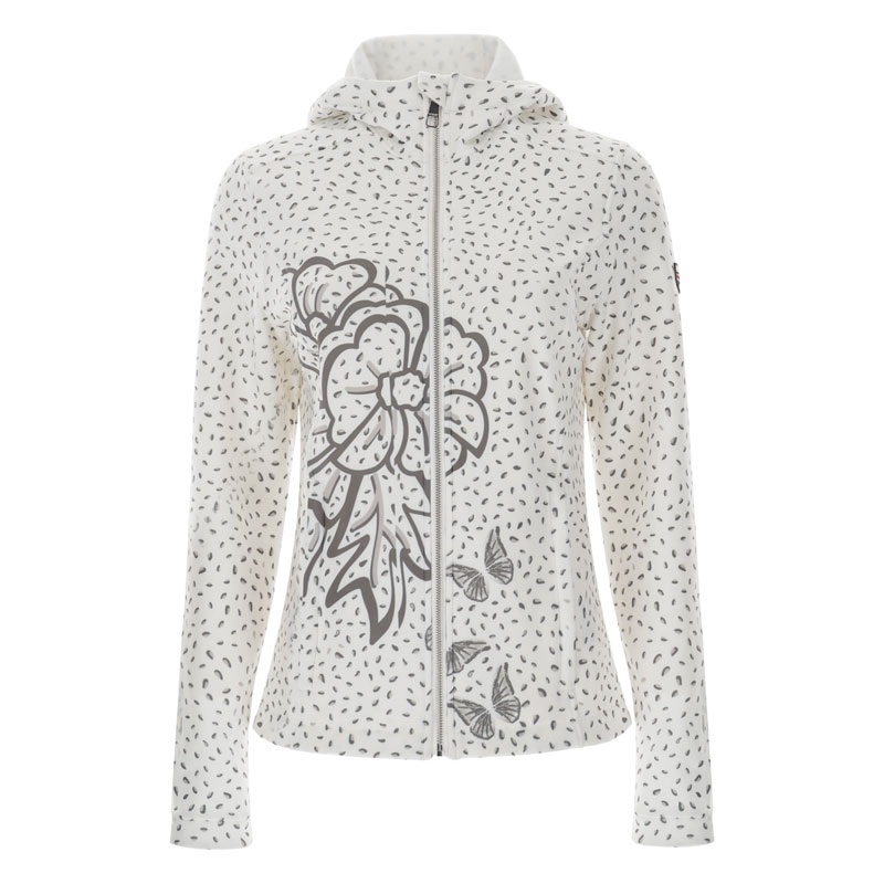 Vist Genny Leo Flower Sweater